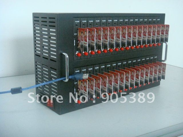 32ports Bulk SMS Modem Q24pl with Free SMS Software