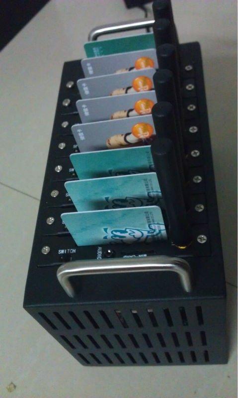Quad band 8 port modem pool with Q24plus