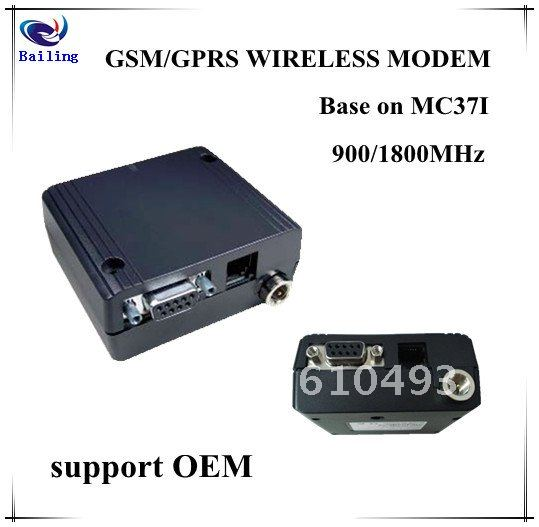 Hot selling !!! GSM/GPRS WIRELESS MODEM base on 900/1800MHz MC37I module with TCP/IP