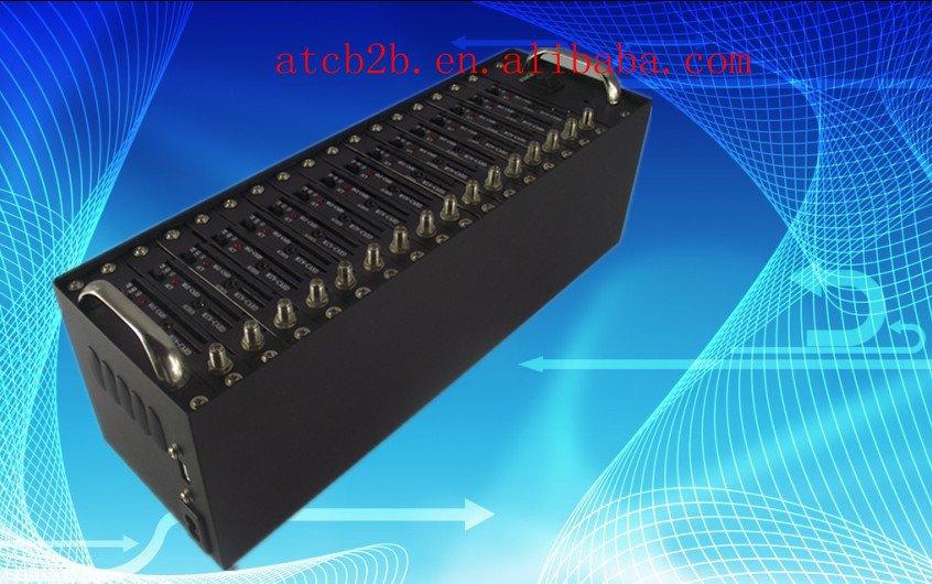 16 port modem pool with Q2403 bulk sending SMS