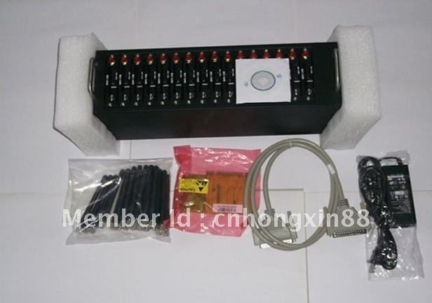 Low price 16 ports Q2303 module bulk sms modem pool, Hot Sales & Fast Shipping!!