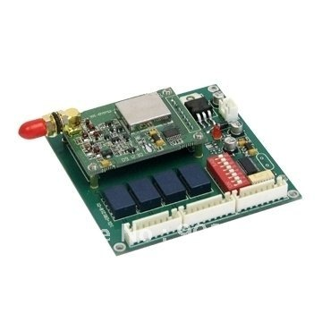 Freeshipping SH-812 2km 4-way I/O Module for the PLC Control ON-OFF Control 433MHz I/O Port Communication