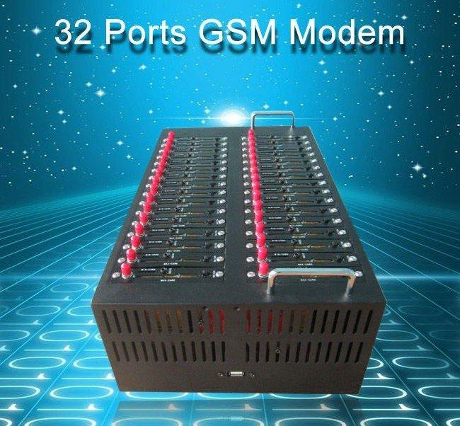 32  port modem pool with Q24plus