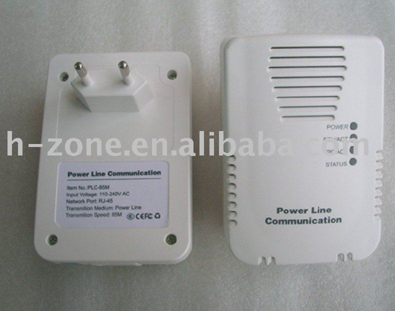 Free shipping+200Mbps home plug adapter+power line communication modem