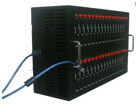 Hot sale GSM/GPRS 32  port modem pool Q2403 free shipping !!!