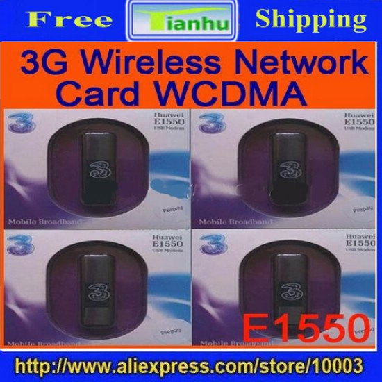free shipping wholesale 5pcs/lot 3G Hsdpa Modem Huawei E1550,usb wireless Modem-hot sale,LATEST FASHION