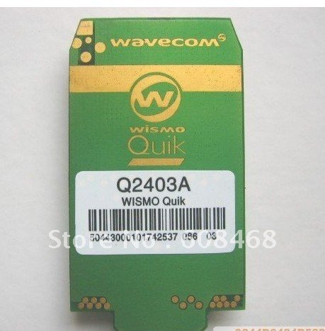 free shipping wavecom gsm module Q2403A hot selling in stock 3days shipping