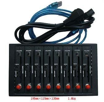 8 port  gsm modem original wavecom Q2303