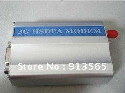 3 G wireless USB/RS232 modem in industrial grade (Q24plus)