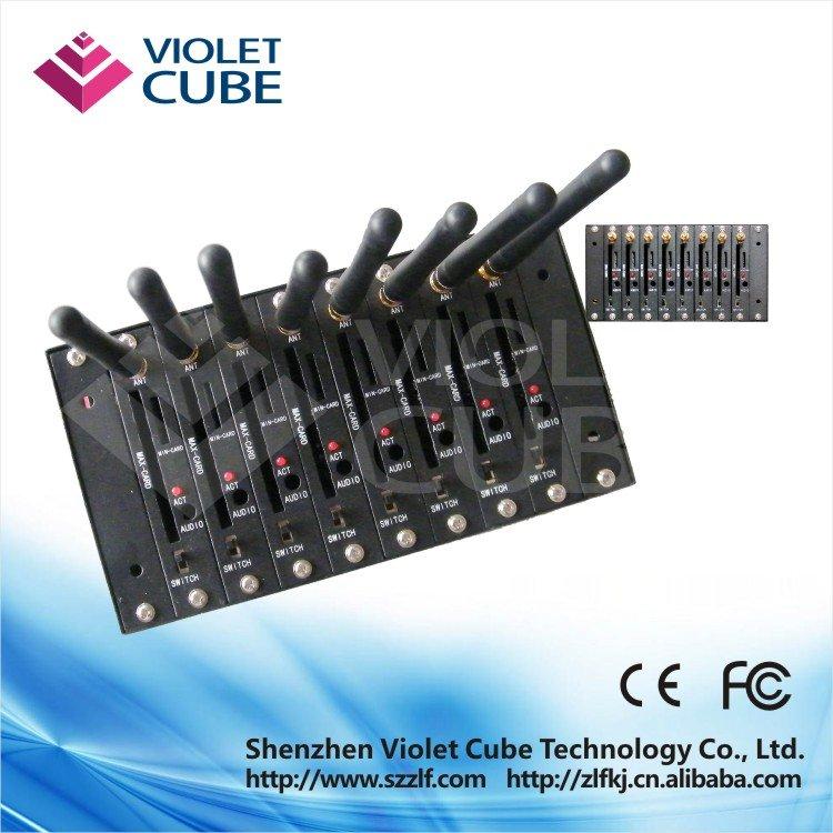 SMS GSM GPRS modem sms modem pool 8 port sms modem pool Q2303     - ZLF01