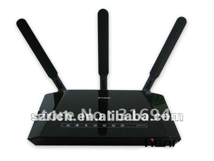 D-LINK DIR-619 300M Wireless Modem Router, WIFI