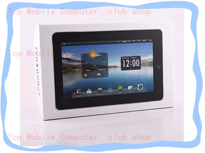 Fresshipping M722 7inch Android 2.2 netbook with 3 CPU support HDMI, bluetooth, 3D games, GPS built-in ( accept paypal )