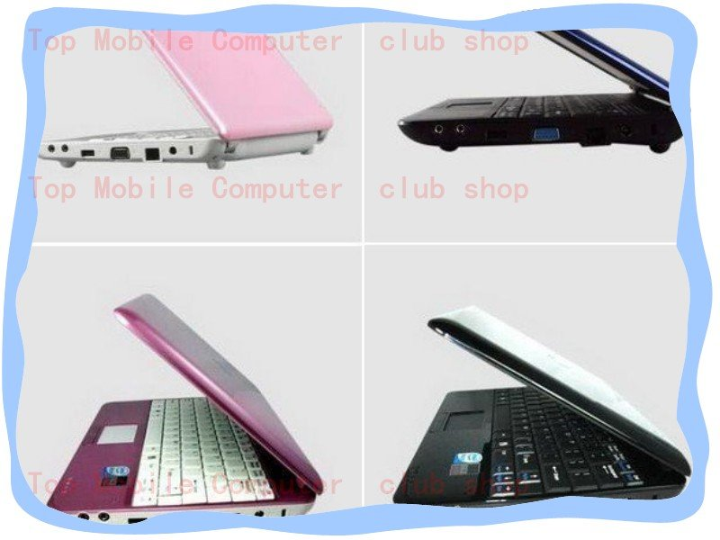 "10.2"" netbook with 160GB hard drive capacity Atom N270"