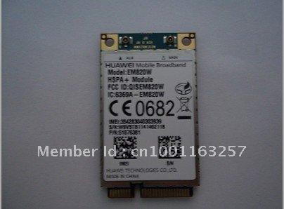 Brand new HuaWei EM820W 3G WCDMA GSM WWAN WLAN Card HSPA+21Mb
