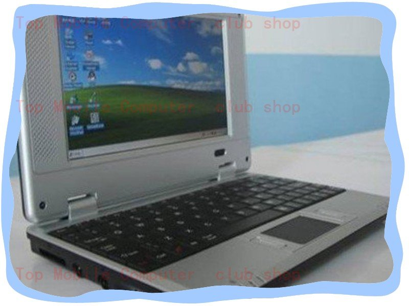 freeshipping 2PCS/LOT 7 Inch Mini Netbook With wifi Windows CE 6.0 System Notebook Computers