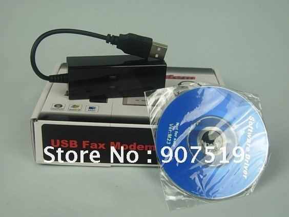 Free shipping 56K USB Fax Modem External Data Voice V9.2/V9.0