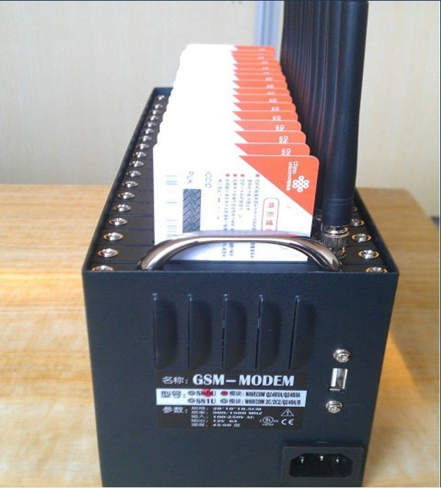 Wholesale GSM Modem Pool 16 Ports Q2406A Modem