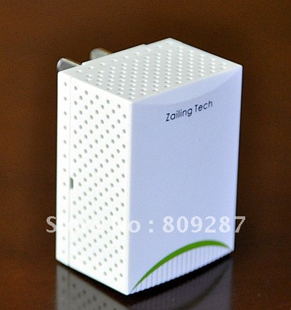 Promotion white 200M homeplug powerline Adapter smallest size