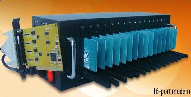 16 ports gsm modem Q2403