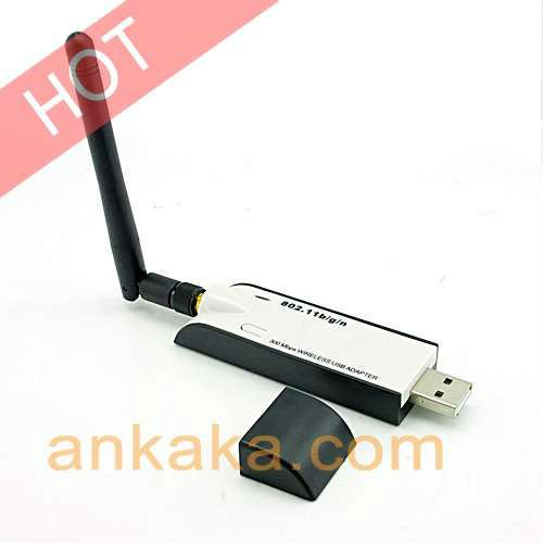 802.11N 300Mbps High Speed Wireless USB Adapter with Antenna