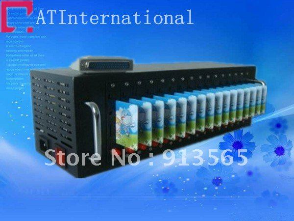 16 ports bulk sms gsm industrial modem pool Q2403A/B