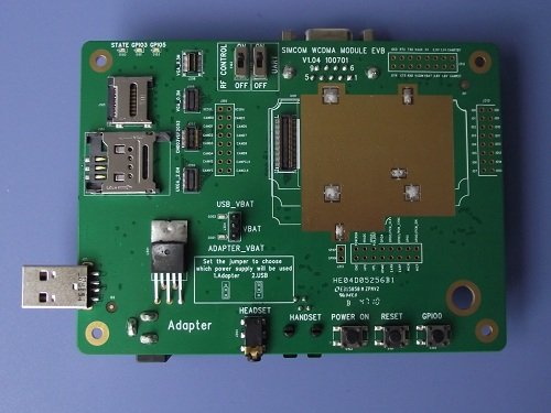 Free shipping SIM5218E SIM5218A SIM5216E SIM5216A SIM5215E EVB  kit Demo board kit