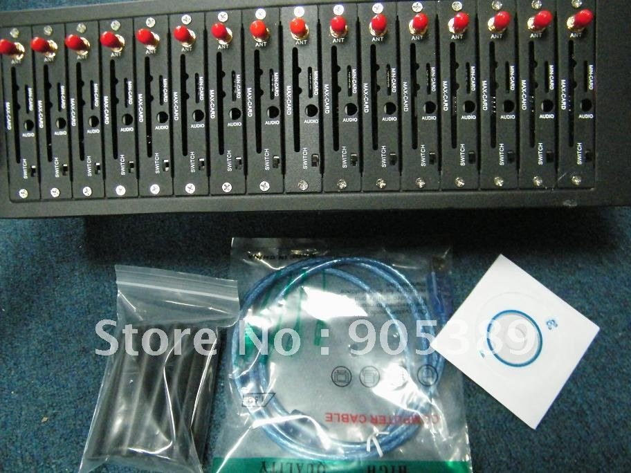 Free shipping  16  ports bulk sms sending gsm modem 2403  best price
