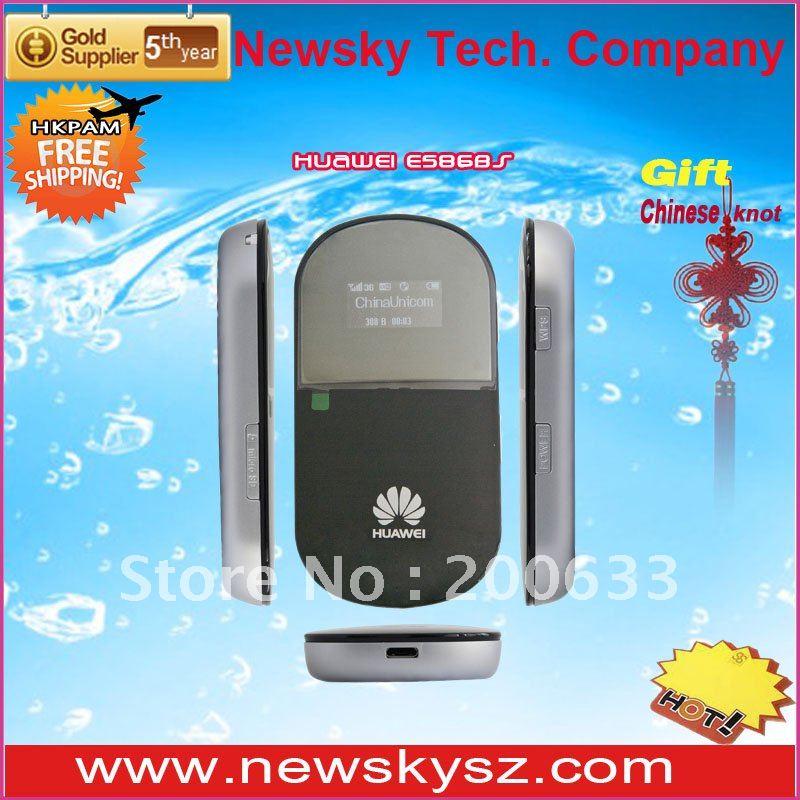 21.6M HSPA+ Original and Unlocked OLED Display 1500mAH Battery HUAWEI 4G Router E586 Support TF Card Hongkong Post Free