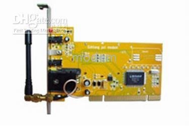Free shipping new and original fully tested PCI GSM wireless MODEM with Wavecom Q2303A Module