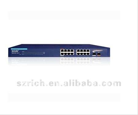 Tenda 16-Port Gigabit Web Smart Switch TEG1216T