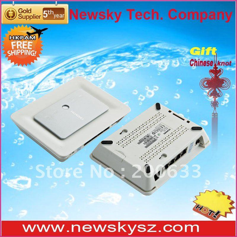 7.2 Mbps HSDPA HUAWEI Router 3G E960 With SIM Slot 4 Lan Port Built-in High Gain Antenna Hongkong Post Free