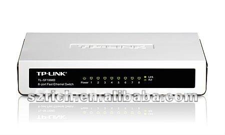 8-Port 10/100Mbps Desktop Switch TL-SF1008D