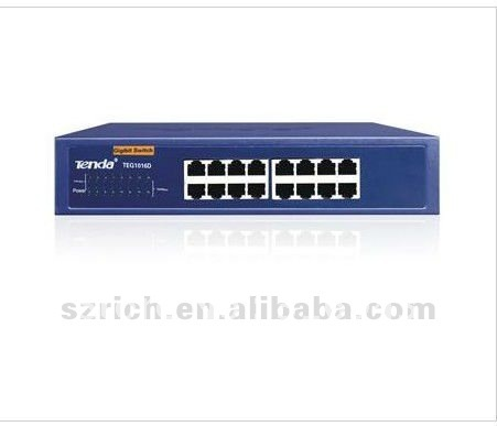 Tenda 16-port Gigabit Ethernet Switch TEG1016D