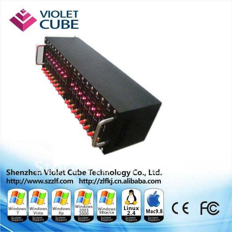Multi-ports bulk SMS USB ports gsm modem pool based on original module