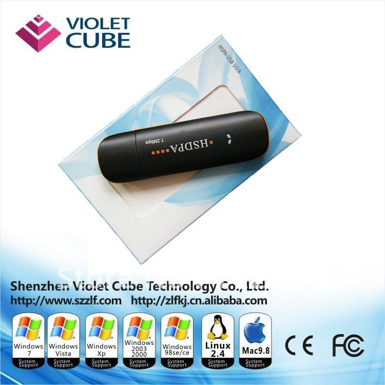 High-quality wireless 7.2Mbps DL HSDPA 2100mhz 3G usb Modem