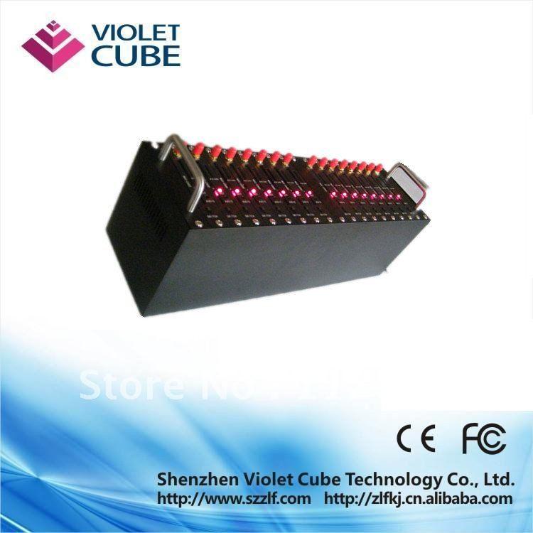 Sim card based 16 channel GSM SMS modem/3g modem pool