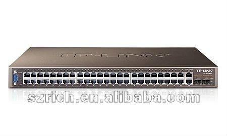 48-Port 10/100Mbps + 4-Port Gigabit L2 Lite Managed Switch TL-SL3452