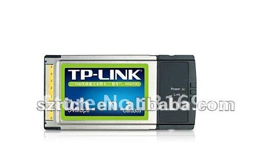 54M wireless notebook cardTP-LINK TL-WN310G