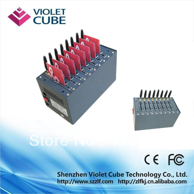 convenience 8 ports wavecom gsm MODEM Q24Plus