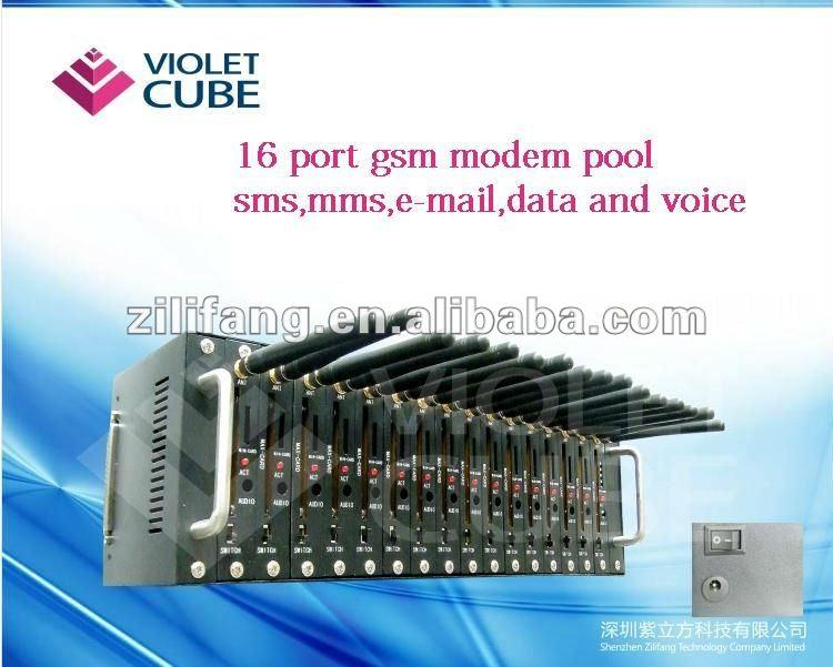 Hot sale!!! 16 port usb gsm/sms modem pool Q2303 ZLF01