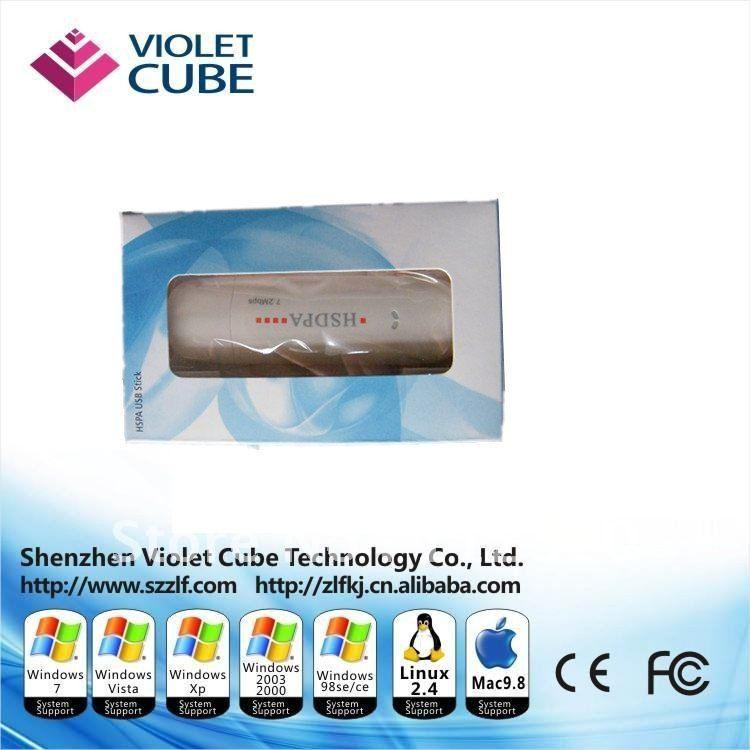 Free shipping 7.2Mbps DL Popular wireless 3g HSDPA USB Modem