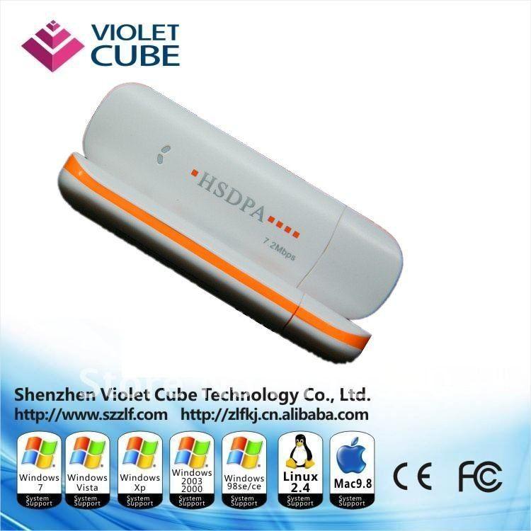 Free shipping 7.2Mbps HSDPA Cheap Universal 3G USB Modem Best Manufacturer