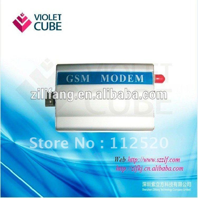 Free shipping industrial modem ,gsm/gprs single port modem based on wavcome