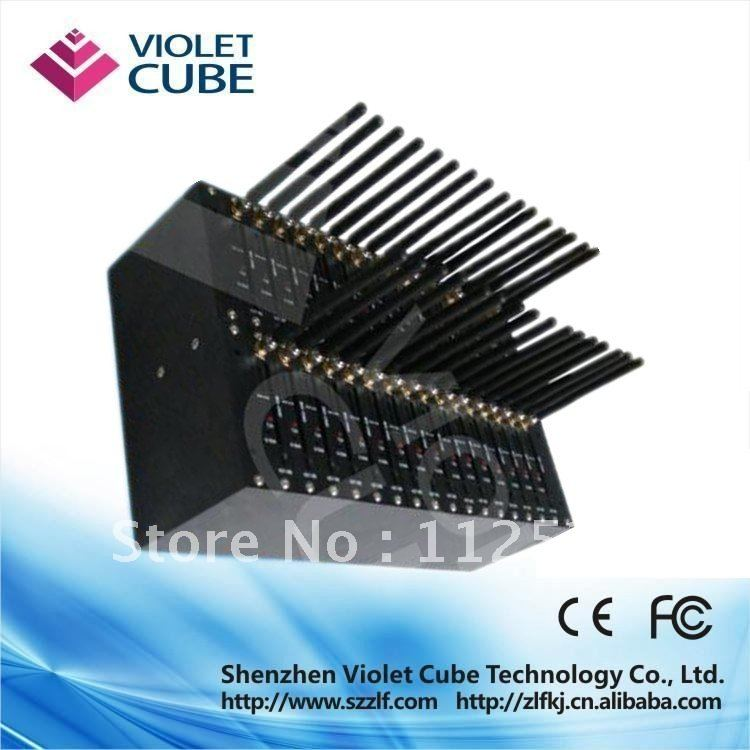 High quality 32 ports modem pool for bulk sms sending Q2406/mobile recharge software