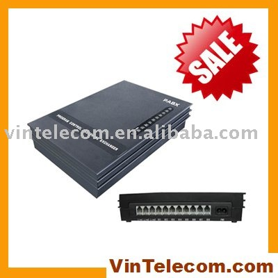3CO+8Ext-SOHO PBX / Small PBX / MINI PABX / PABX-for small businss solution-Promotion