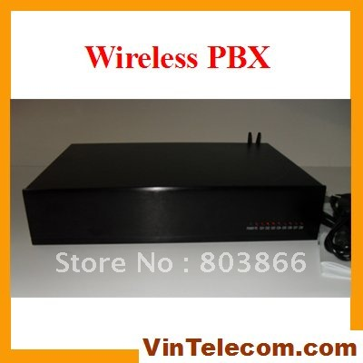 China pbx manufacturer VinTelecom TP832 PABX with 8 Lines ( 6 PSTN wired lines & 2 GSM wireless Lines) and 32 extensions - NEW