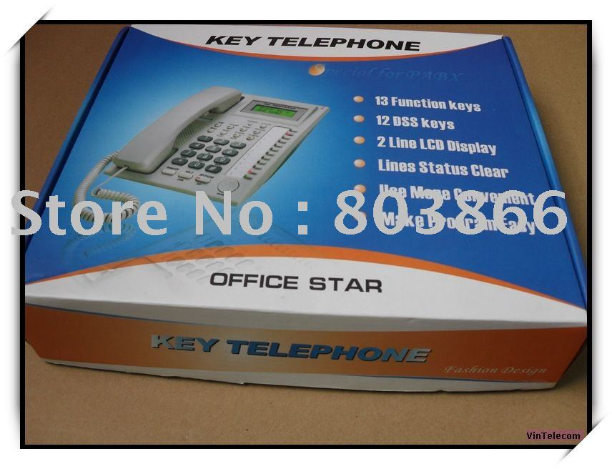 Key Telephone  for CP/TP832 PABX System
