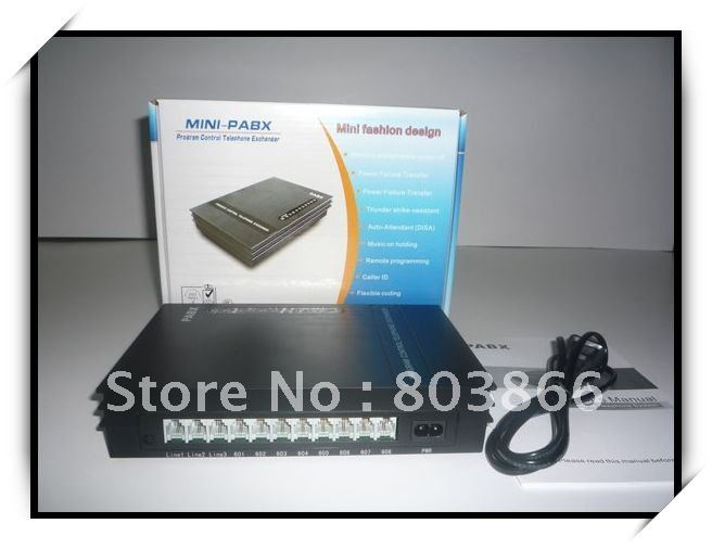 SV308 MINI PABX (3 lines +  8 ext ) / Telephone PBX System-  HOT SELL