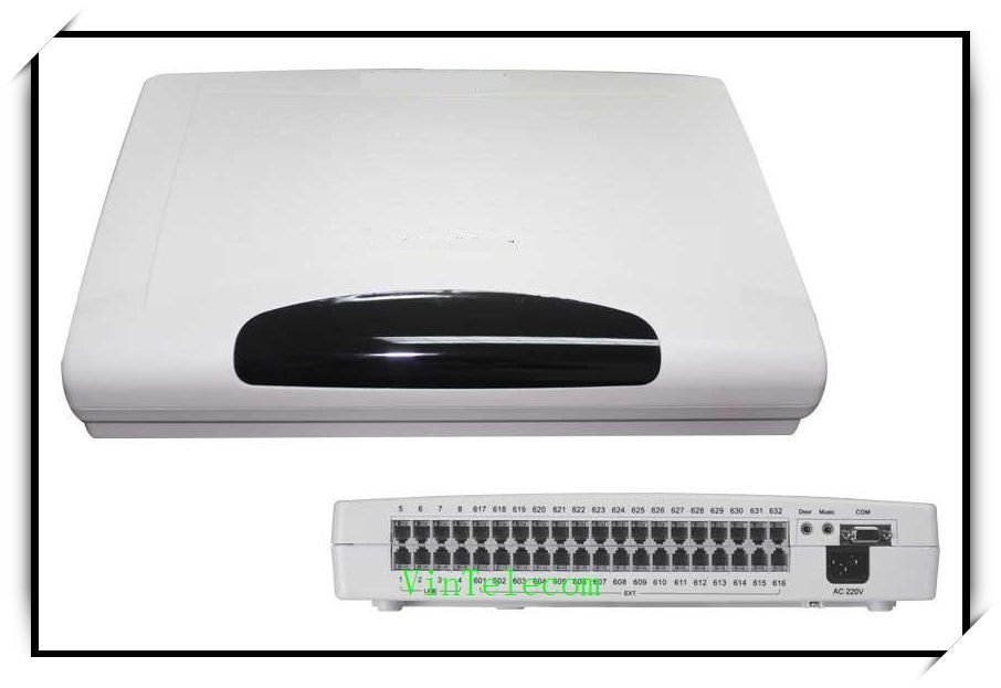 CP832 office telephone PBX/PABX factory supply with 8 Lines x  32Extensions - free shipping