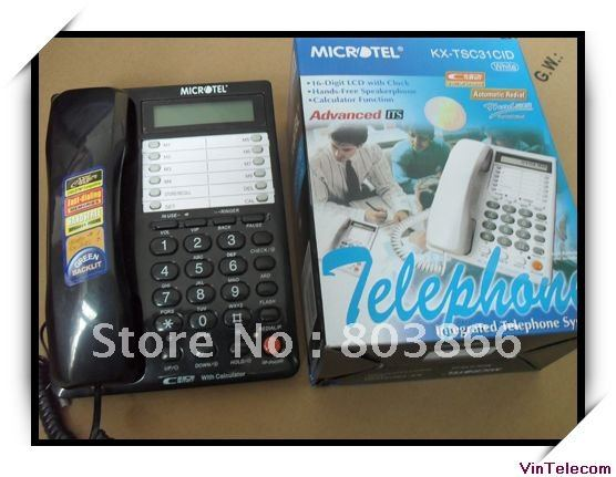 Analog telephone  for pabx / pbx extensions handsets